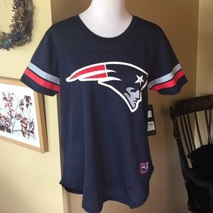 PATRIOTS size Large NFL Team Logo JERSEY $38 New